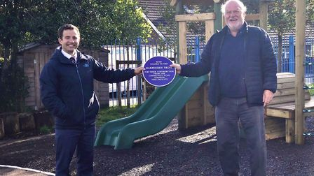 The Early Years playground at The Lea Primary School and Nursery has been transformed over the summe