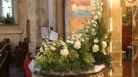 St. Leonard's Flower Festival sees the church beautifully decorated each harvest. Picture: Caroline