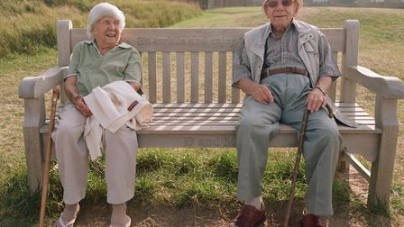Harpenden couple Monte and Doreen Copas celebrated 70 years of marriage. Picture: Supplied