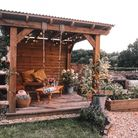 Open to the elements: Bespoke outdoor living space 1,200, www.timberman.co.uk