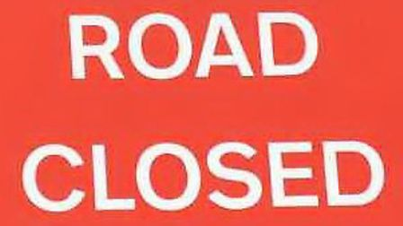 The North Orbital Road is closed due to a crash on the A414.