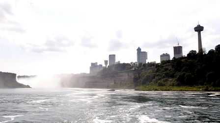 The Horseshoe falls, part of the Niagara Falls in Ontario, Canada. Picture: Ian West/PA Images
