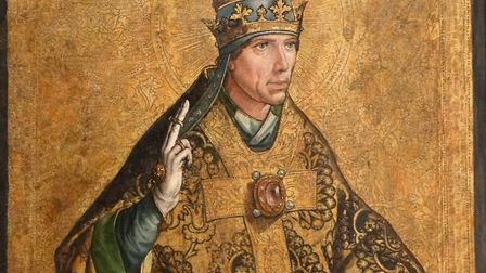Portrait of Pope Gregory I (540-604) known as Saint Gregory the Great. By Pedro Berruguete (1450-150