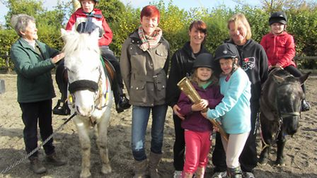 The 3 Crazy Mares are holding a lunchtime fundraiser for their charity challenge.