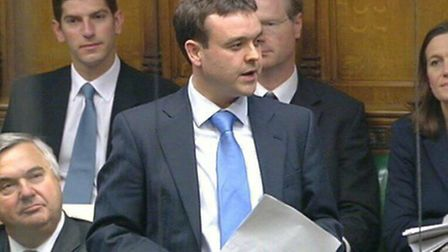 MPs Stephen McPartland, front, and Oliver Heald, pictured left, both voted for the plans in the Hous