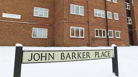 The council wants to put money into redeveloping John Barker Place