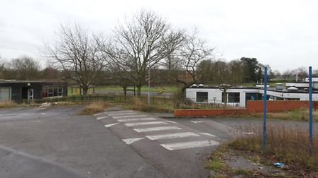 Site of Lannock Primary School. This used to be a school site and a planning application has gone in