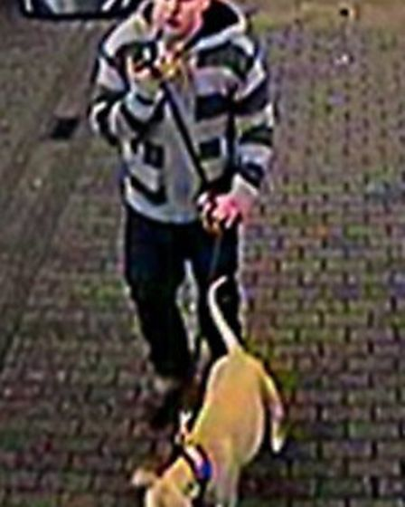 Officers are now releasing CCTV images of a man they would like to speak to in connection with the i
