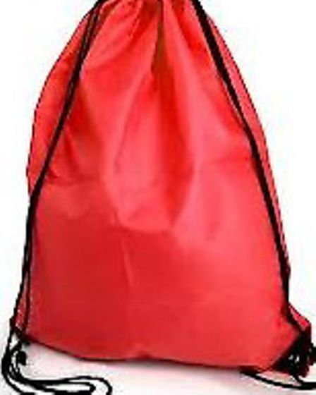 The suspect made off with this type of bag