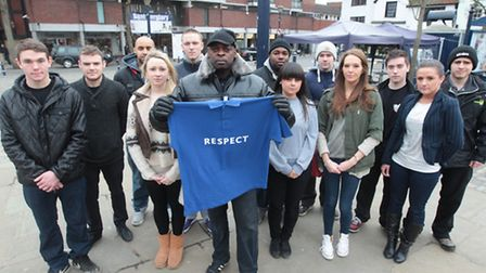 """A """"respect"""" campaign is being introduced, following the brawls on Saturday. Pictured is Clinton Moul"""
