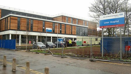 Action is to be taken at the Lister Surgicentre in Stevenage