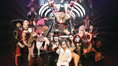 The Circus of Horrors cast