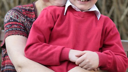 Noah Masters-Rushen, 7, was diagnosed with a life threatening brain abscess which required emergency