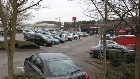 Businesses said the car park was less busy on Saturday, but with more custom