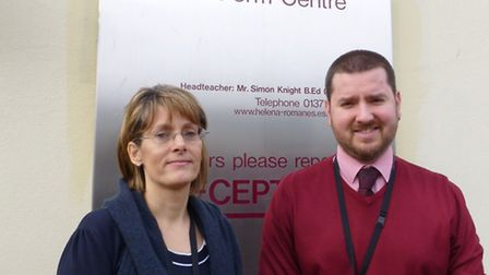 HRS trainees Jane Beer and Jake Newman
