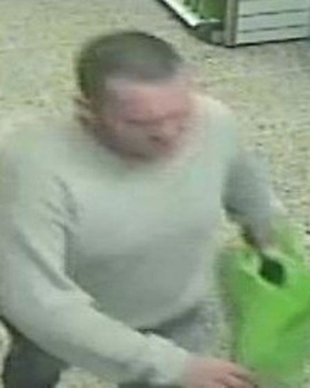 The man is suspected of stealing two epilators, an electric shaver and two electric toothbrushes on