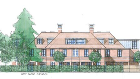 Plans for the new boarding house at Felsted School which will replace the Follyfeild building that w