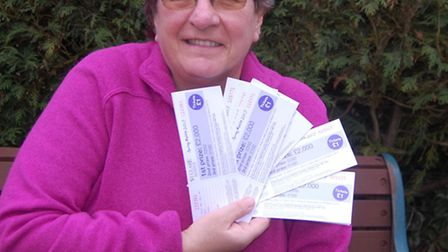 TV gardener Christine Walkden is supporting the raffle, organised by the St Clare Hospice,