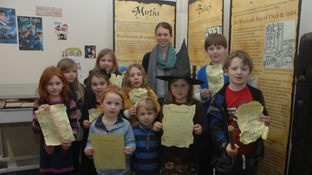 Youngsters took part in a treasure hunt around Saffron Walden Museum in a bid to find the ingredient