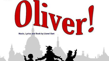 A promotional poster for Oliver, the Dunmow Player's latest production