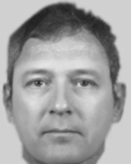 Police released this efit following a report from a Hatfield victim