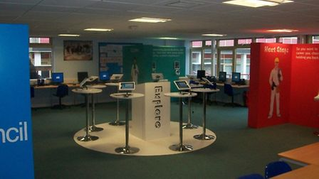 The Discover your Future road show will be visiting Saffron Walden County High and Newport Free Gram