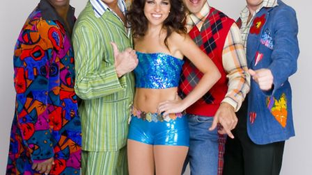 Some of the cast for Boogie Nights. Credit: Linda Lusardi