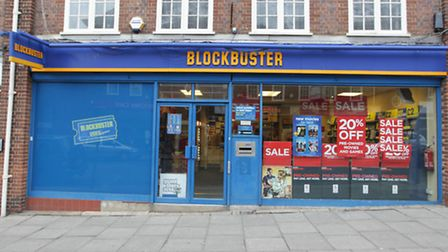 The Hitchin Blockbuster store is to close