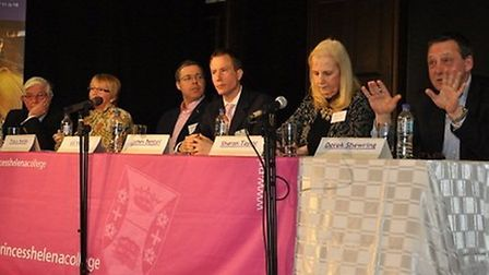 Panelists at the Question Time