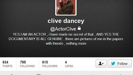 Mr Dancey changed his Twitter profile following the show