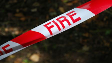 Crews were called out to a blaze at Fairfield Park this morning (Wednesday)