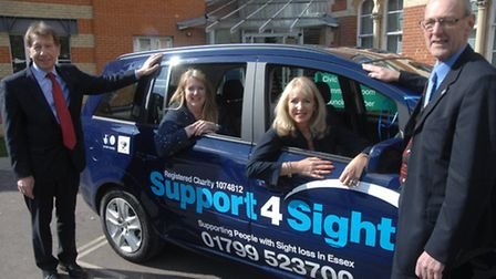 Support 4 Sight's new car