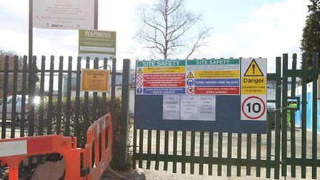A demolition plan which will see buildings at the old Marriotts School site in Stevenage has been ag