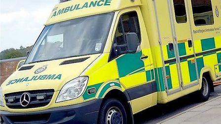 An 82-year-old man was helped to safety by a paramedic