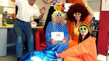 The team at SR Events did a Harlem Shake for Red Nose Day