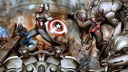 Ultimate Marvel Universe: Divided We Fall, United We Stand