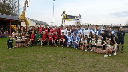 Saffron Walden Town FC hosted a charity football match in honour of the Ethan Rees Linwood Memorial