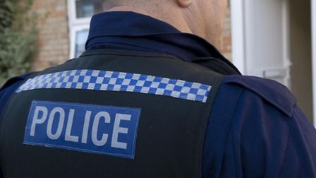 The man was arrested during a series of police raids