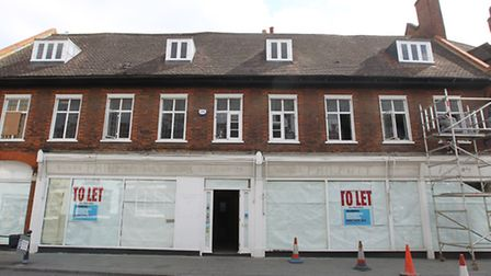 Former Philpotts furniture store, Sun Street, Hitchin. An application has gone in to change the use