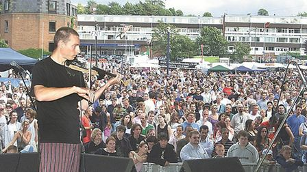 The festival used to be held in the town (pictured) but organisers say it is not making a return the