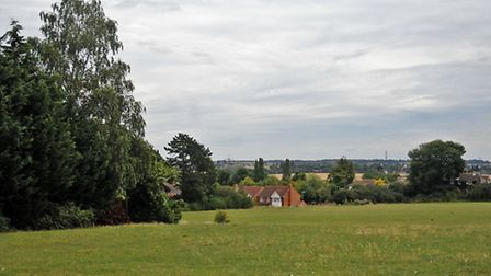 Application has been made to register Benslow Fields in Hitchin as a town green.