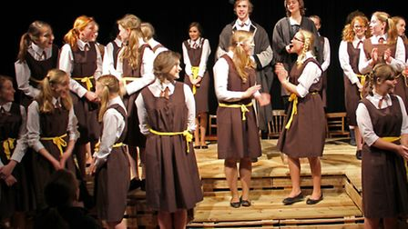 Friends' School's production of Daisy Pulls it Off