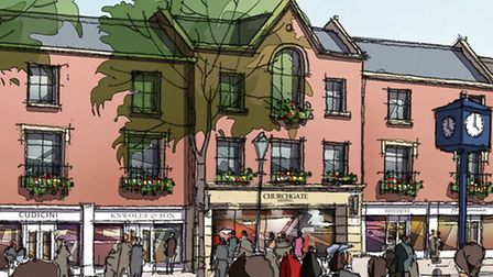 A closer look at the plans for the shopping centre