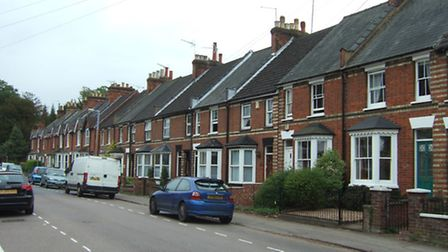 Benslow Lane in Hitchin is one of the areas affected