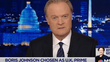 The Last Word's Lawrence O'Donnell. Photograph: MSNBC.