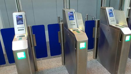 From Monday April 22, 16 new self-service 'Smart Access' scanners will replace manual boarding pass