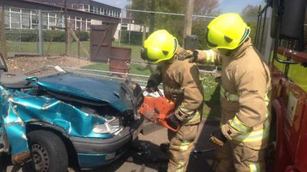 Baldock and Letchworth white watch on exercise