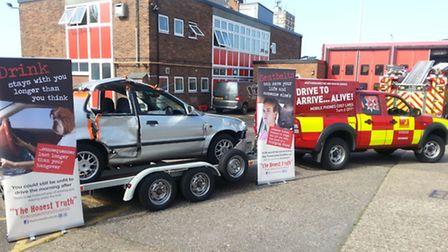 Herts road safety campaign