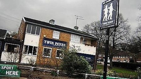 The Twin Foxes pub may be replaced with flats
