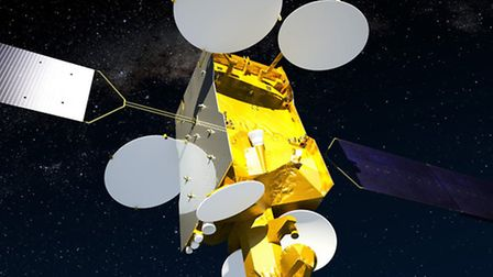 """Stevenage workers helped construct the satellite's """"life support system"""""""